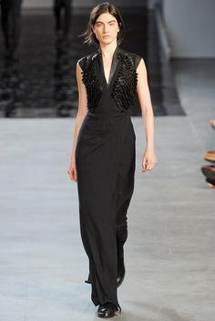 Helmut Lang RTW A/W 2012/13.  Model - Jacquelyn Jablonski.