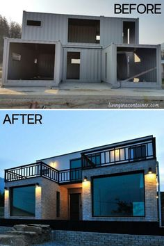 Tiny House Cabin, Tiny House Living, Living Room, Shipping Container Home Designs, Shipping Containers, Building A Container Home, Container Buildings, Small House Design, Modern House Design