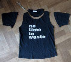 830700d878f Urban people  DIY  oversized T-shirt to tank top Urban People