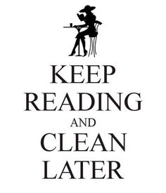 We love these funny bookworm memes about cleaning!
