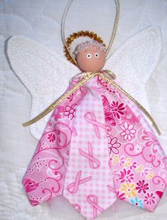 Breast Cancer Awareness Angel