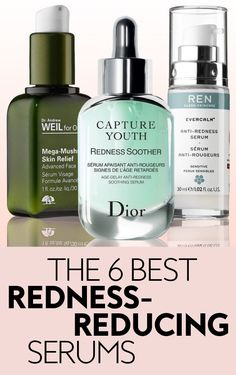 These serums are your answer for how to get rid of redness on your face. Packed with concentrated amounts of calming, fast-acting ingredients, these gentle formulas will take down inflammation and even out your skin tone. Redness On Face, Anti Redness, Acne Face, Face Skin, Skin Serum, Face Serum, Ren Clean Skincare, Smokey Eye Makeup, Pimples