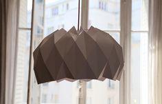 Suspension origami : DIY
