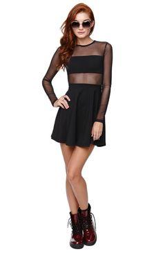 Kendall & Kylie Fabric Mix Skater Dress - Win a $1,000 PacSun Gift Card #pacsun #wishandpin