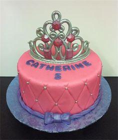 Princess/Tiara Birthday Cake