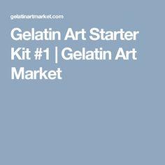 Gelatin Art Starter Kit #1 | Gelatin Art Market