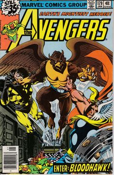 Avengers 1963 1st Series 179 January 1979 Issue  by ViewObscura