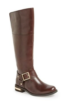Vince Camuto 'Kallie' Leather Riding Boot (Women) available at #Nordstrom