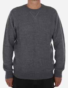 Carhartt WIP - Kay Sweater dark grey heather