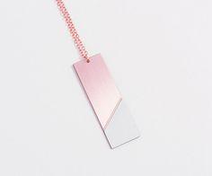 Copper Drop Necklace