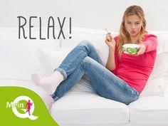 Nach der Fitness ist vor der Fitness: Mein Q – Dein Fitness-Quark. Könnt ihr auch prima als Wellness-Snack auf dem gemütlichen Sofa zu Hause schlemmen. :) #MeinQ