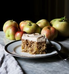 Spiced Apple Cake With Brown Butter Buttercream – DisplacedHousewife