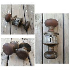 Vintage Rustic Metal Salvaged Door Knob. Vintage, metal door knob ...