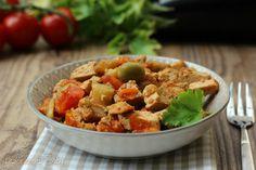 Spezzatino melanzane e tofu (ricetta vegana)