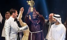 Franciscan brother who gives away 80% of his income scoops Varkey Foundation prize