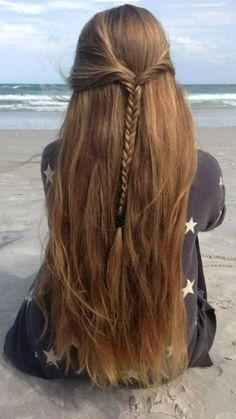 Beautiful Long Hair, Gorgeous Hair, Beautiful Beach, Love Hair, Human Hair Extensions, Hair Day, Pretty Hairstyles, Amazing Hairstyles, Casual Hairstyles