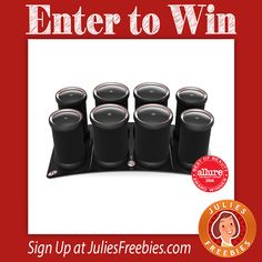 Facebook Twitter PinterestHere is an offer where you can enter to win 1 of 4 sets of Haute Rollers. Ends on November 1, 2016. ENTER HERE