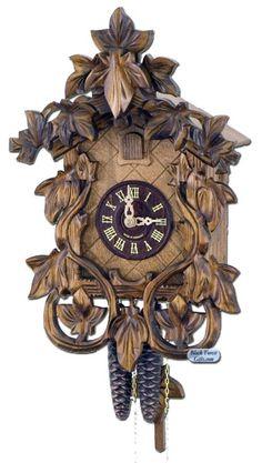 Black Forest Cuckoo Clock. Old Clocks, Antique Clocks, Cuckoo Clocks, Silent House, Coo Coo Clock, Tick Tock Clock, Black Forest Germany, Unusual Clocks, Classic Clocks