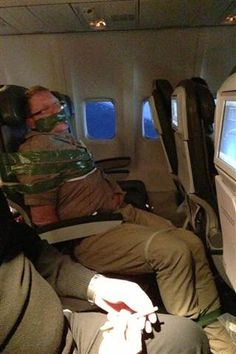 Passenger shaming blogs expose air travel troublemakers (Photo Courtesy of andyellwood.tumblr.com)