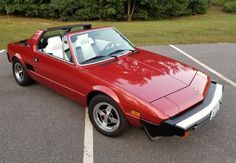 Bid for the chance to own a 1981 Fiat at auction with Bring a Trailer, the home of the best vintage and classic cars online. Retro Cars, Vintage Cars, Fiat X19, Ferrari, Preppy Car, Fiat 124 Spider, Fiat Cars, Fiat Abarth, Car Design Sketch