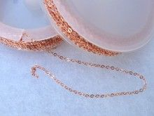Small Oval Link Chain in Spool (32 feet), Copper