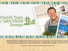 QVC's David's Taste of San Fran Sweepstakes
