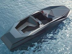 Z BOAT BY ZAHA HADID...just perfect for just under a half million.