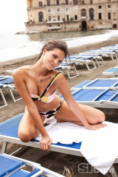 Daniella Sarahyba - Sports Illustrated Swimsuit 2009 Location: Naples, Italy Photographed by: Riccardo Tinell
