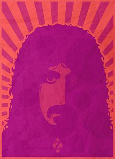 PM Artwork : Peter Möller // Grafik | Layout | Fotografie | Grafik  Music poster for Frank Zappa. Inspired by a retro image...