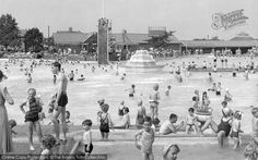 At the Lido: Aldershot, The Bathing Pool c.1955