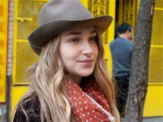 "I will be watching the character Jessa on HBO's awesome new series ""Girls"" for cool, hippy-euro style tips.  wooo"