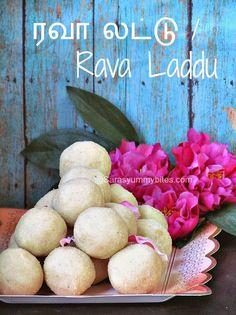 Rava Laddu / Semolina Laddu