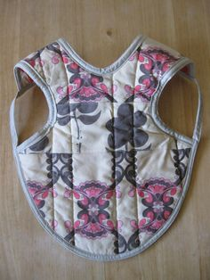 Bapron Babies Reversible Quilted Bib Apron by WednesdayAprons, $12.50