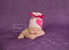 Newborn Baby Photo Prop Baby Girl Scrunchy by PhotoPropsByMissLene, $18.00