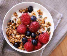 Lebensmittel fürs Fitness-Frühstück