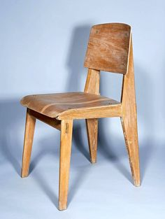 """All Wood"" Chair by Jean Prouvé"