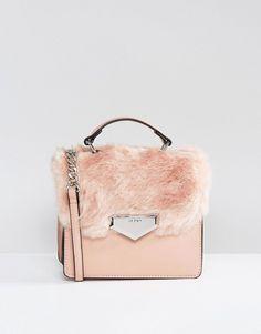 17dcce882fb1 ALDO Moraine Faux Fur Cross Body Bag