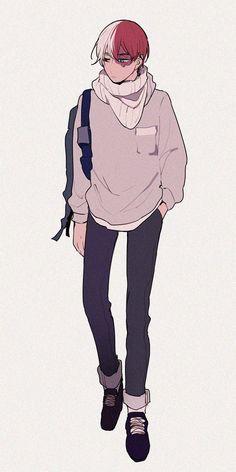 Super cute Todoroki ~~~