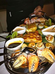Chicago Prime Steakhouse Has Great Seafood Platter Www Chicagoprime Ru Moscow