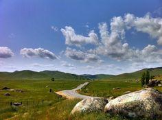 homesick... highway near my mom's house, sierra-nevada foothills, california.