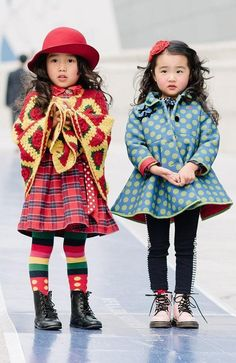 Meet the tiny new street style stars taking over fashion week