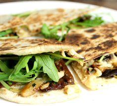 Veganmisjonen: Quesadilla med aubergine