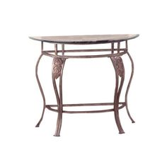 Display family photos or heirloom curios atop this elegant console table, showcasing cabriole legs and laurel leaf details.    Product: ...