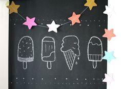 Omdat het nog zo prachtig heerlijk zomerweer is, kan een blog over ijsjes nog…