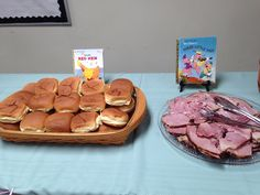 Story book baby shower theme