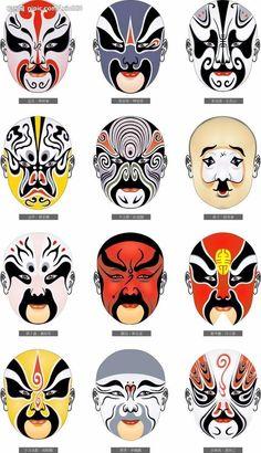 Beijing opera-Mask