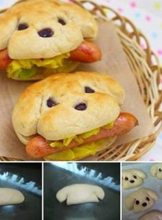 Traktatie hotdog Prachtig dit!
