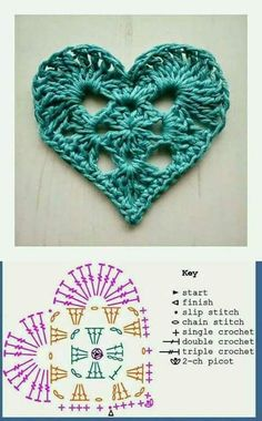 This granny square is very satisfying to make. I used a crochet and the yarn is from Spagetti Yarn Slim Cotton which gives a special texture to the finished crochet piece. Of course you can use a different yarn type. Appliques Au Crochet, Crochet Motifs, Crochet Diagram, Crochet Chart, Crochet Squares, Crochet Granny, Diy Crochet, Crochet Doilies, Crochet Flowers