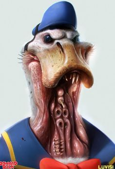 Horror Donald Duck