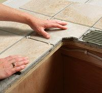 How-to Tile counter tops